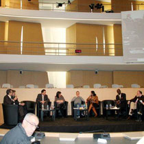 Les intervenants  de la table ronde - Photo © Anik COUBLE