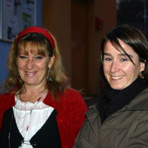 Marie MURE et Aline CHAMBE / Photo : Anik COUBLE