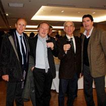 Des élus locaux,  lors du vernissage de l' exposition de Raymond Depardon  Lyon - Novembre 2012 © Anik COUBLE