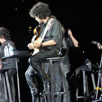 Les musiciens de Johnny Hallyday - Lyon - Juin 2012 © Anik COUBLE