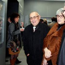Jean Depardon, Claudine Nougaret et Thierry Fremaux  - Lyon - Novembre 2012 © Anik COUBLE