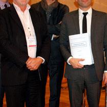 Philippe Fremeaux, Joël Tronchon et Benoît Hamon - Journées de l'Economie (Jéco) - Lyon - Novembre  2013 - Photo © Anik COUBLE