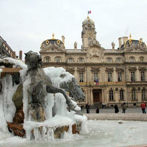 Fontaine Bartholdi, place des Terreaux / Photo: Anik Couble