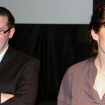 Sévy WEBER, présidente du Jury et Jérémy FRENETTE/ Photo : Anik COUBLE