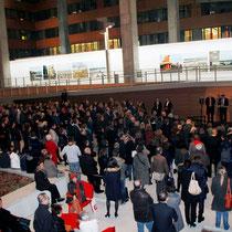 Vernissage de l' exposition de Raymond Depardon au siège de la Région Rhône-Alples  - Lyon - Novembre 2012 © Anik COUBLE