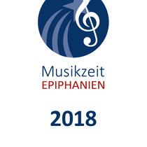 Musikzeit Epiphanien 2018 – DIN A6 Flyer Vorderseite