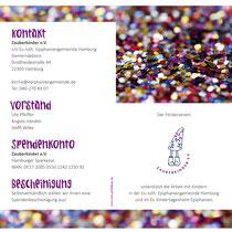 Zauberkinder e.V. – DIN lang Folder außen