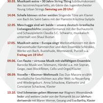 Musikzeit Epiphanien 2019 – DIN lang Flyer Rückseite