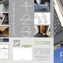 Hamburger Blechwerk – DIN A4 Folder außen