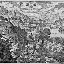 Atalanta fugiens, figure XXXVI, Michael Maier, 1618