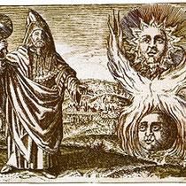 Hermès Trismégiste - Viridarium chymicum, D. Stolcius von Stolcenbeerg, 1624