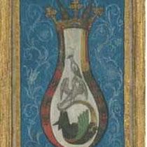 Miniature alchimique, Aurora Consurgens ou Das Buch der HI. Dreifaltigkeit, XVème siècle