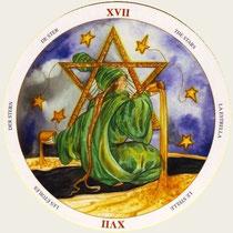 XVII L'Étoile - Le tarot du Cycle de la vie