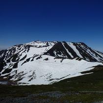 継子岳から見た剣ヶ峰