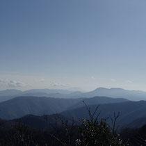 三周ヶ岳からの景観