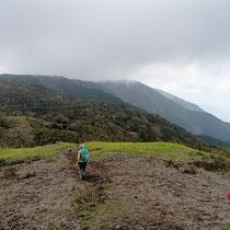 ホッケ山からはなだらかな丘陵地帯