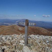 資料写真2013.121.8霊仙山最高点