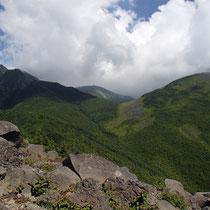 西岳からの眺望