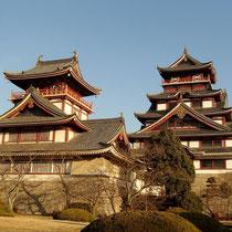 伏見桃山城のを横を通り