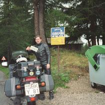 Passo Cibiana (1.530 m)  46° 22′ 27″ N, 12° 15′ 32″ O