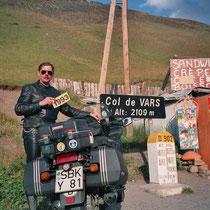 Col de Vars (2109 m) 44° 32′ 20″ N, 6° 42′ 10″ O