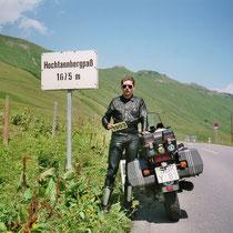 Hochtannbergpass (1660 m) 47° 16′ 10″ N, 10° 7′ 50″ O