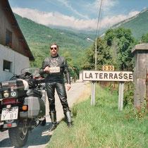 """La Terrasse (257 m)   45° 19' 25.6908"""" N 5° 55' 50.2428"""" O"""