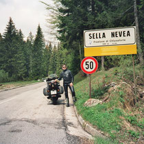 Sella Nevea (1180 m) 46° 23′ 26″ N, 13° 28′ 32″ O