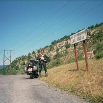 """Col de Trèbuchet (1144 m)  43° 55.112700"""" N 6° 49.939260"""" O"""