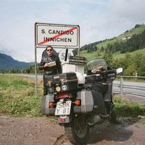 Innichen (italienisch San Candido) (1.181 m)  46° 44′ N, 12° 16′ O