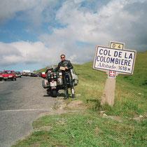 Col de la Colombière (1618 m)  45° 59′ 32″ N, 6° 28′ 33″ O