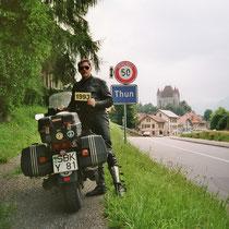 Thun (französisch Thoune) (560 m)  46° 45′ 32″ N, 7° 37′ 48″ O