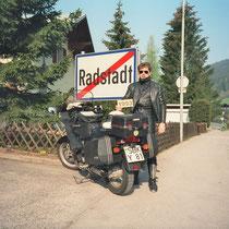 Radstadt (858 m)  47° 23′ 0″ N, 13° 28′ 0″ O
