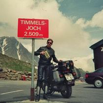 Timmelsjoch (2509 m) 46° 54′ 19″ N, 11° 5′ 51″ O