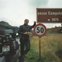 Passo Campolongo (1.875 m) 46° 31′ 12″ N, 11° 52′ 27″ O