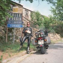 """Colle d'Oggia (1167 m)   43° 58' 55.1064"""" N, 7° 52' 4.7388"""" O"""