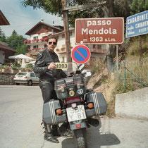 Mendelpass (italienisch Passo della Mendola) (1.363 m)  46° 25′ 1″ N, 11° 12′ 26″ O