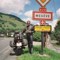 Megève (1094 m)  45° 51′ N, 6° 37′ O