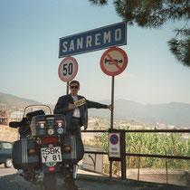 Sanremo (13 m) 43° 49′ 0″ N, 7° 47′ 0″ O