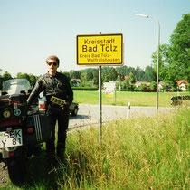 Bad Tölz (658 m)  47° 46′ N, 11° 33′ O