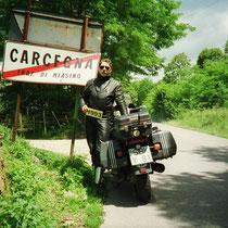 Carcegna (397 m)  45°48′28″ N, 8°25′15″ O