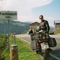 Faschinajoch (1486 m) 47° 16′ 19″ N, 9° 54′ 27″ O