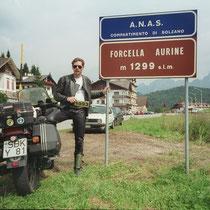 Forcella Aurine (1.299 m)   46°14′11.65″ N, 11°58′33.71″ O