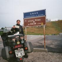 Passo di Giau (2.236 m)  46° 29′ 3″ N, 12° 3′ 6″ O
