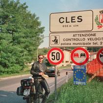 Cles (656 m)  46° 22′ 0″ N, 11° 2′ 0″ O