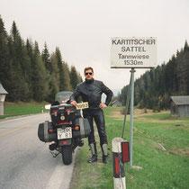 Kartitscher Sattel (1530 m) 46° 43′ 5″ N, 12° 32′ 27″ O