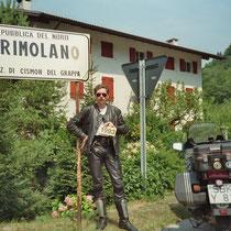 Primolano (210 m) 45°57′58″ N, 11°42′24″ O