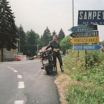 Sampeyre (998 m) 44° 35′ 0″ N, 7° 11′ 0″ O