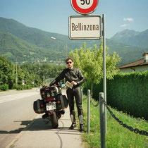 Bellinzona (230 m) 46° 11′ 30″ N, 9° 1′ 25″ O