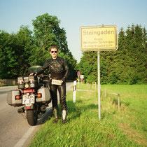 Steingaden (763 m)  47° 42′ N, 10° 52′ O